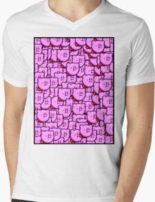 Kirby WTF !!! Mens V-Neck T-Shirt