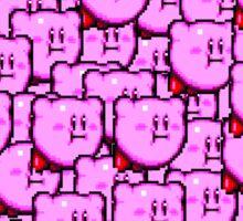 Kirby WTF !!! Sticker