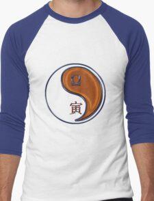 Libra & Tiger Yang Wood Men's Baseball ¾ T-Shirt