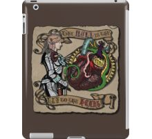 The Mind is the Key to the Heart (brown) iPad Case/Skin