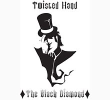 The Black Diamond of the Twisted Hand Unisex T-Shirt