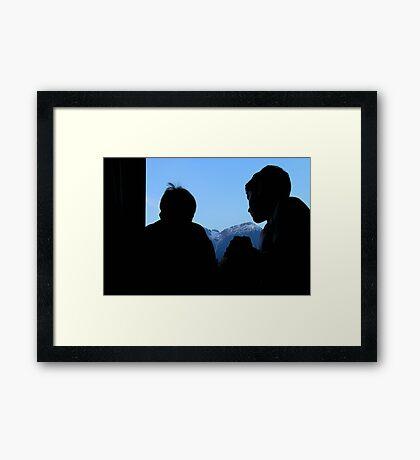 Far from Home (Bay Rum Cologne) Framed Print