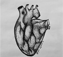 Dotted Heart by kaylaoconnor