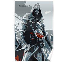 Assassin's Creed Revelations Ezio Minimalistic Poster