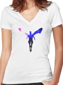 Archwing Women's Fitted V-Neck T-Shirt