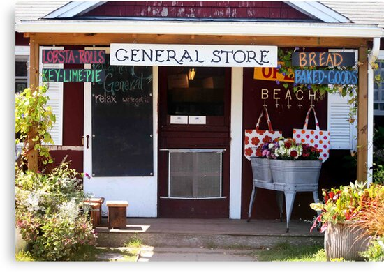 Katama General Store by phil decocco