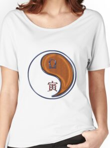 Libra & Tiger Yang Wood Women's Relaxed Fit T-Shirt
