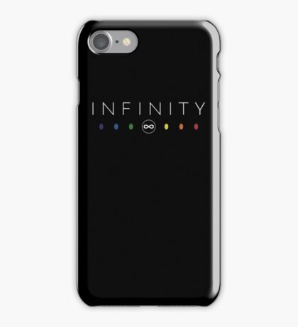 Infinity - White Clean iPhone Case/Skin