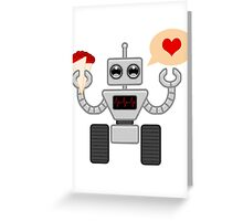 The Robot Who Loved Greeting Card