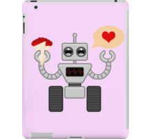 The Robot Who Loved iPad Case/Skin