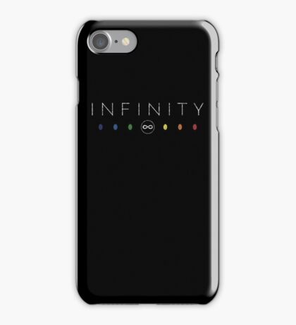 Infinity - White Dirty iPhone Case/Skin