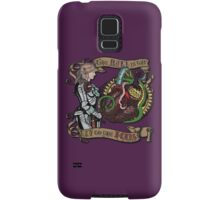 The Mind is the Key to the Heart (royal purple) Samsung Galaxy Case/Skin