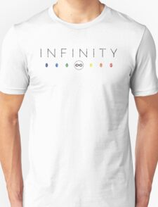 Infinity - Black Dirty T-Shirt