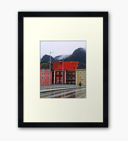 Rainy Streets Framed Print