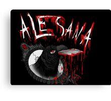Alesana Nevermore Canvas Print