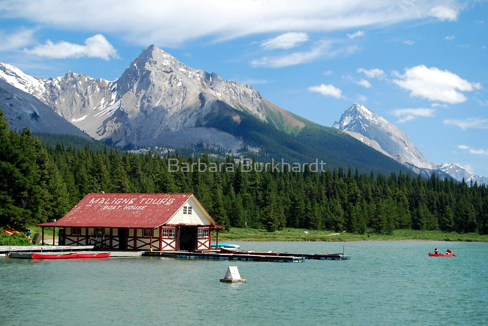 Lake Tours - Maligne Lake by Barbara Burkhardt