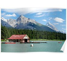 Lake Tours - Maligne Lake Poster