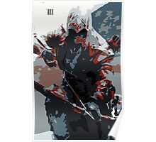 Assassin's Creed III Connor Kenway Poster