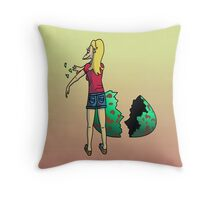 The Num Nums - Bunny Throw Pillow