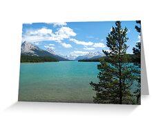 Maligne Lake - Jasper National Park Greeting Card
