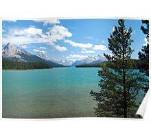Maligne Lake - Jasper National Park Poster