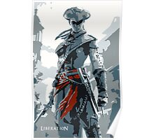Assassin's Creed III Liberation Aveline Poster