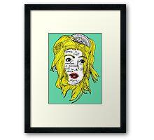 soft creature Framed Print