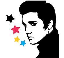 Elvis Silhouette, Design Photographic Print