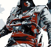 Assassin's Creed IV Black Flag Edward Kenway by MillsLayne