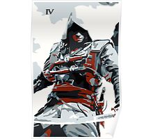 Assassin's Creed IV Black Flag Edward Kenway Poster