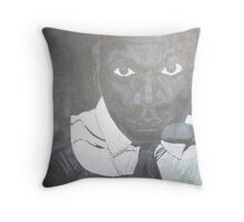 marcellus wiley Throw Pillow