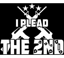 I Plead The 2nd Photographic Print
