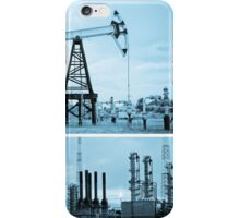 Oil industry. iPhone Case/Skin