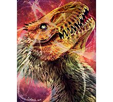 Dinosaur Space Party Photographic Print