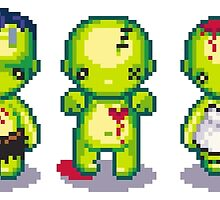 The Zombie Hoard by iamnotadoll