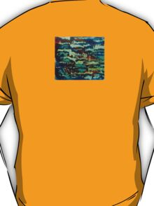 Colour in fade brush T-Shirt