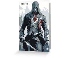 Assassin's Creed Unity Arno Greeting Card