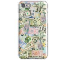 International currencies iPhone Case/Skin