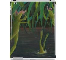 National Frog Jumping Day iPad Case/Skin