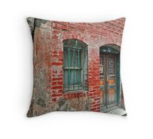 An old house from 1800's Throw Pillow