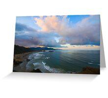 Sunrise on Cannon Beach Greeting Card