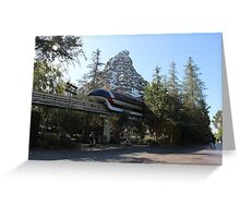 Take a ride on the Monorail Greeting Card
