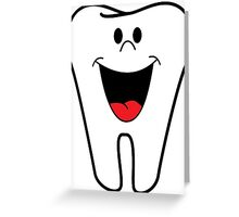 Dentist Tooth Design Greeting Card