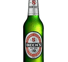 Beck's Beer Bottle by Ryan Carter