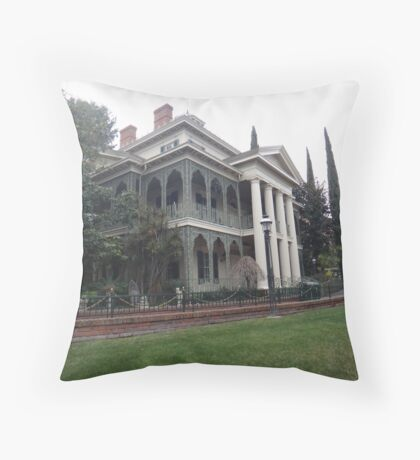 A Haunting Good Time Throw Pillow