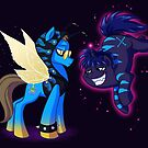 Mad T Ponies - Chesshur and Absolem by CherryGarcia