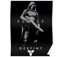 Destiny Hunter Action Figure Poster