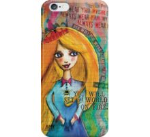 sister bumble bee iPhone Case/Skin