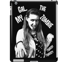 My Gal, the Zombie- Horror Host Punk iPad Case/Skin