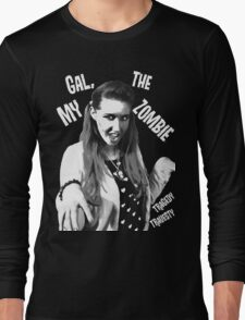 My Gal, the Zombie- Horror Host Punk Long Sleeve T-Shirt